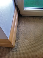 Draught Marks A K A Filtration Soiling On Carpets